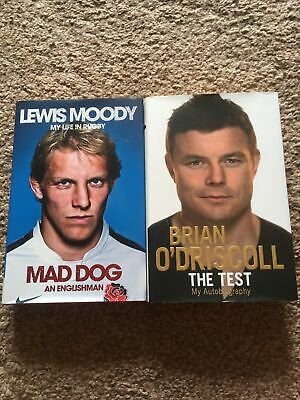 £1.50 • Buy Rugby Union Hardback Books - Lewis Moody And Brian O'Driscoll