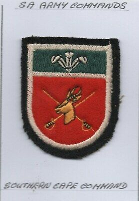£7.99 • Buy South  African Army Southern Cape Command Patch