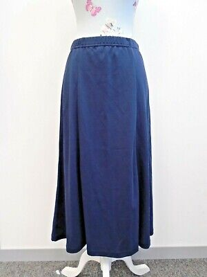 £4.99 • Buy Cotswold Collections Navy Blue 100% Pure Cotton Skirt Ladies Size S BNWT