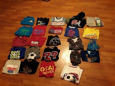 AU47.90 • Buy Lot Of 24 Boy's  Mixed Clothes Size 6/7  Nike, Adidas,  Xersion
