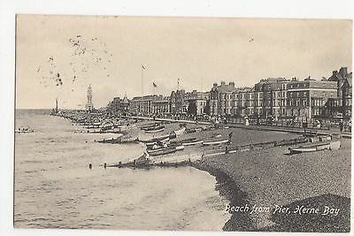 £1.50 • Buy Beach From Pier, Herne Bay 1916 Postcard, A414