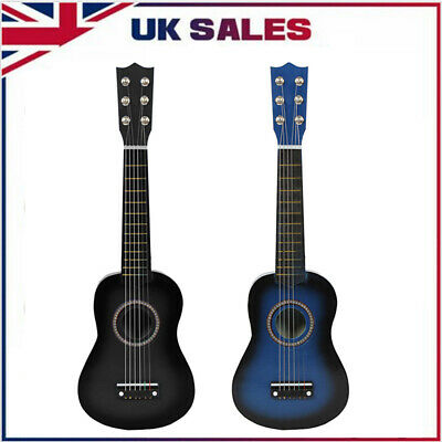 £13.34 • Buy 21  Childrens Kids Wooden Acoustic Guitar Musical Instrument Toy Xmas Gift B6b1