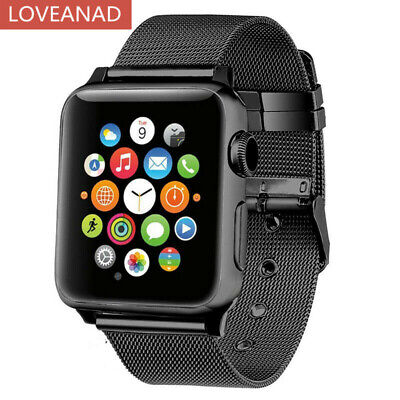 AU9.34 • Buy Armband For Apple Watch Serie 2 3 4 5 6 SE Milanese Edelstahl Strap Band 38/44mm