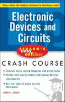 £2.97 • Buy Schaum's Easy Outline Of Electronic Devices And Circuits By Jimmie J. Cathey