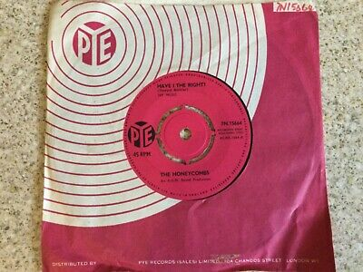 £1.60 • Buy The Honeycombs  Have I The Right?  7  Vinyl Single