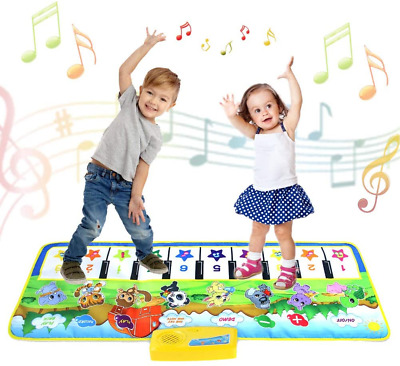 £20.47 • Buy Kids Piano Mat,Toddlers Kids Toys Age 1 2 3 4 5 Year Old Girls Boys Music Dance