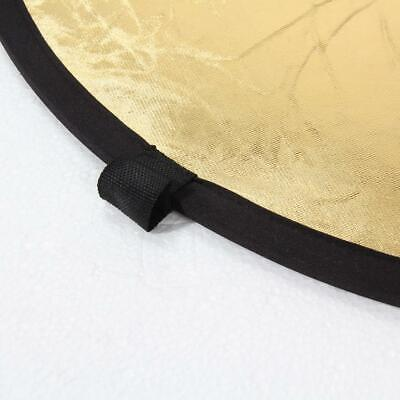 £6.77 • Buy 2-in-1 Light Mulit Collapsible Disc Photography Reflector Silver/Gold 60cm