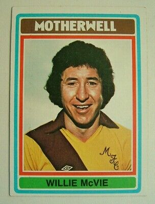 £1.99 • Buy Topps Chewing Gum Inc. Willie McVie, Motherwell.  Card No. 67