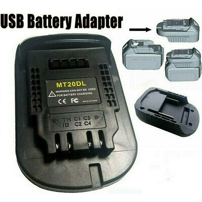 AU24.99 • Buy Battery Convert Adapter For Makita 18V Battery To Milwaukee 18V M18 Tools AU