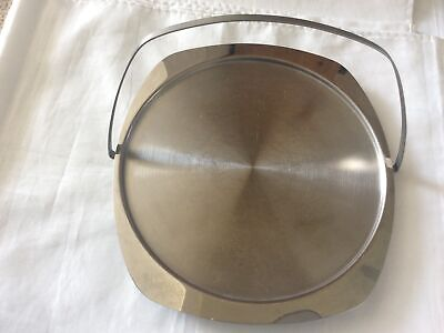 £4.99 • Buy Cake Stand Vintage Chichester Stainless Steel, Foldable Carry Handle England