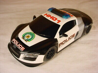 £25.86 • Buy Scalextric Audi R8 Police Car HH01 Lights Siren C3457 From C1310 Set Near Mint