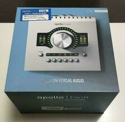 AU1117.10 • Buy Universal Audio Apollo Twin MKII/DUO Analog 2-in-6-out Thunderbolt-compatible JP