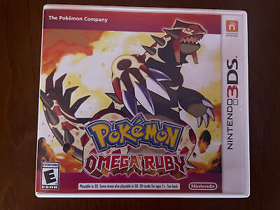 $8.50 • Buy Pokemon Omega Ruby (3DS, 2014) Tested/ Working (No Issues)