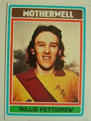 £1.99 • Buy Topps Chewing Gum Inc. Willie Pettigrew, Motherwell.  Card No. 70
