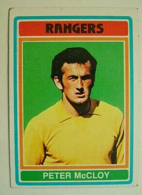 £1.99 • Buy Topps Chewing Gum Inc.  Peter McCloy, Rangers.  Card No. 74