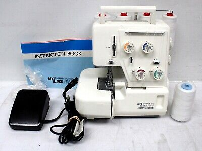 £46 • Buy JANOME Mylock 134D Differential Feed Overlocker Sewing Machine, Pedal - S76