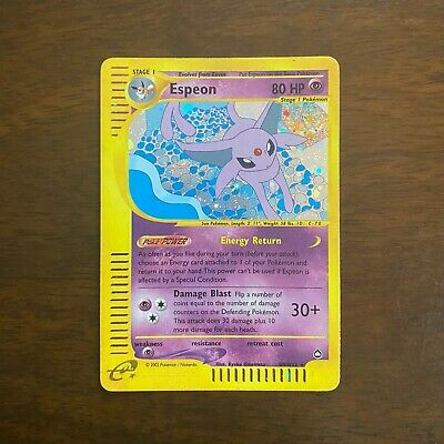 $70 • Buy Espeon H9/H32 Foil - Lightly Played - Pokemon Card