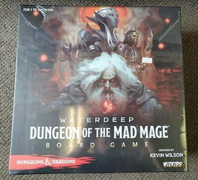 AU82.09 • Buy D&D Waterdeep: Dungeon Of The Mad Mage Board Game NEW & SEALED