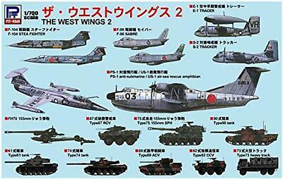£30.58 • Buy Pit-Road Skywave S52 The West Wings 2 1/700 Scale Kit F/S W/Tracking# Japan New