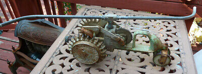 AU234.51 • Buy Vintage National A5 Walking Cast Iron Tractor Lawn Sprinkler Brass Arms