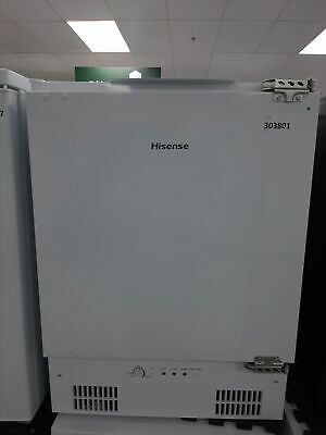 £225 • Buy Hisense FUV126D4AW11 Integrated Under Counter Freezer - F Rated #303801