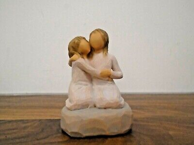 £4.99 • Buy Willow Tree  Sister Mine  Nothing Compares To Closeness Of Sisters Figurine