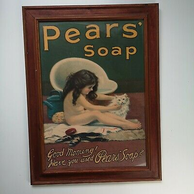 £25 • Buy Pears Soap Good Morning! Have You Used Pears' Soap