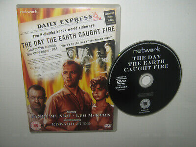 £2.99 • Buy The Day The Earth Caught Fire - Network Region 2 Sci-fi Dvd - Edward Judd