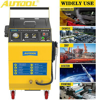£2999.99 • Buy AUTOOL Dry Ice Blast Cleaning Machine Rust Carbon Deposit Paint Grease Remover