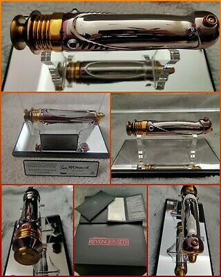 £3852.45 • Buy Autographed Master Replicas Star Wars Darth Sidious Lightsaber 1:1 ROTS SW132 AP