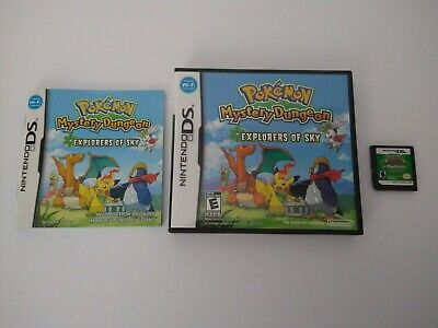 $94.90 • Buy Pokemon Mystery Dungeon: Explorers Of Sky (Nintendo DS) Cart/Box/Manual Tested