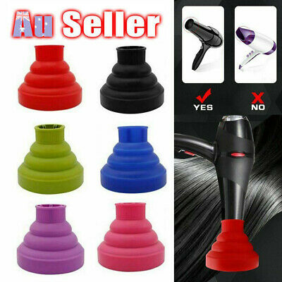 AU15.68 • Buy Diffuser Tool Professional Hairdressing Salon Curly Hair Dryer Universal Blower