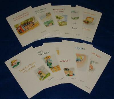 £15 • Buy La Famille Martel, A Set Of 10 Reading Books In French For Primary Aged Children