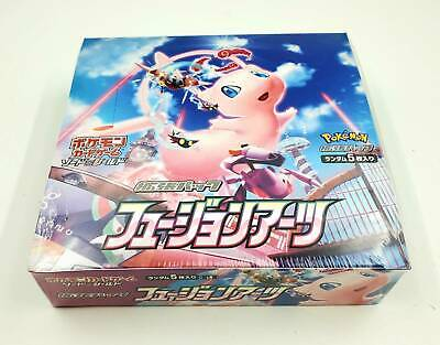 $109.80 • Buy Pokemon Card Game Sword & Shield Fusion Arts Booster Box Mew  Factory Sealed