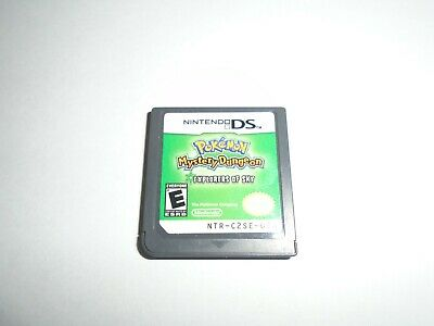 $77 • Buy Nintendo DS Pokemon Mystery Dungeon: Explorers Of The Sky Game Tested!