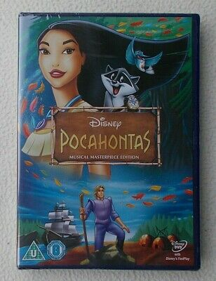 £3.99 • Buy Pocahontas : Musical Masterpiece Edition DVD Gold Oval No 33 ~ New & Sealed
