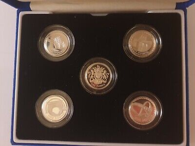 £50 • Buy 2003 - 2007 Silver Proof Coin Set