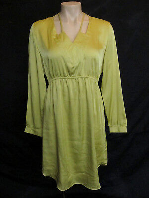 AU12 • Buy ANGEL MATERNITY Yellow Special Occasion / Evening Dress - Size S - NWOT!