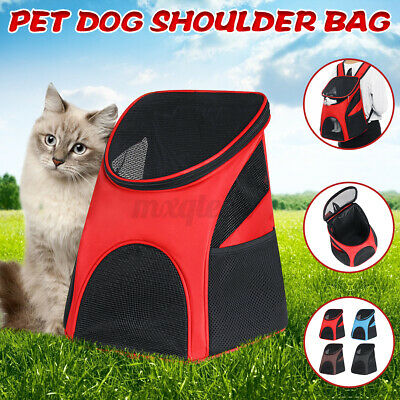£10.78 • Buy Large Pet Carrier Backpack Small Dog Cat Puppy Rabbit Animal Outdoor Travel