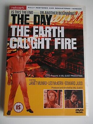 £3.50 • Buy The Day The Earth Caught Fire DVD, Restored And Remastered. Network Release Mint