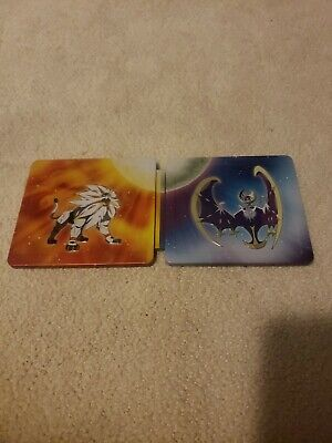$75 • Buy Pokemon Sun And Moon 3ds Dual Pack -SteelBook Only -No Boxes Or Games