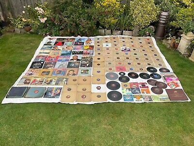 £25 • Buy Vintage Records LPs Gramophone Records 45s 78s Job Lot Of 100 + Records Mixed