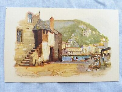 £1.90 • Buy 1940's Anne Croft Signed PC, The Jews House, Polperro. Series 2122