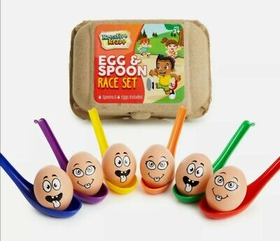 £14 • Buy Egg And Spoon Race Game, Family Fun