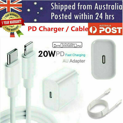 AU9.95 • Buy 20W USB Type-C Wall Fast Charger PD Power Adapter For IPhone13/Pro/12/11 Max