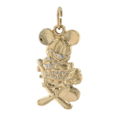 £15.30 • Buy Disney Mickey Mouse Pendant Sterling - 925 Gold Plated Director's Chair Cartoon
