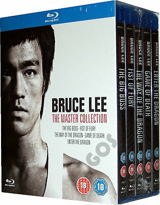 £36.95 • Buy Bruce Lee The Master Collection Blu-ray 4K Restorations Of Some Films Extras New