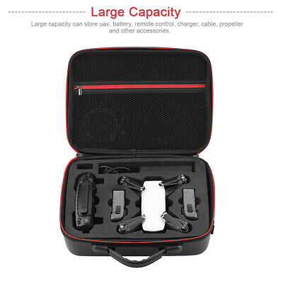 AU33.61 • Buy Waterproof Drone Accessories Storage Bag PU Leather Carrying For DJI Spark