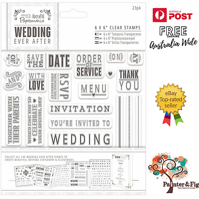AU12.30 • Buy Wedding Stamps, Invitation, Save The Date, Menu, Together, With Love, Thank You
