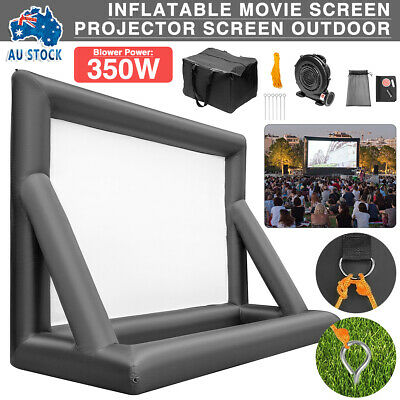 AU235.99 • Buy 6M Inflatable Movie Screen Projector Screen Outdoor Theater Backyard W/Blower AU